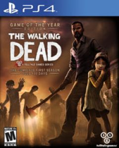 Jaquette de The Walking Dead Game of the Year Edition PS4