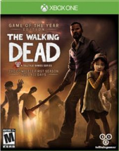 Jaquette de The Walking Dead Game of the Year Edition Xbox One