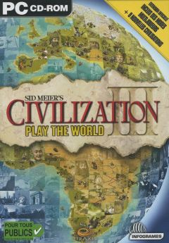 Jaquette de Civilization III : Play the World PC