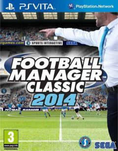 Jaquette de Football Manager 2014 PS Vita