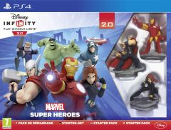 Jaquette de Disney Infinity 2.0 : Marvel Super Heroes PS4