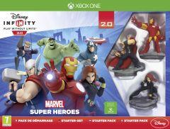 Jaquette de Disney Infinity 2.0 : Marvel Super Heroes Xbox One