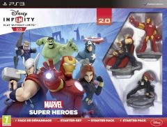 Jaquette de Disney Infinity 2.0 : Marvel Super Heroes PlayStation 3