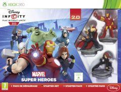 Jaquette de Disney Infinity 2.0 : Marvel Super Heroes Xbox 360