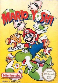 Jaquette de Mario & Yoshi NES