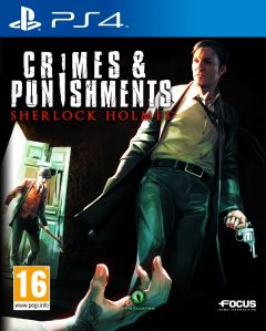 Jaquette de Sherlock Holmes : Crimes & Punishments PS4