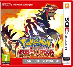 Jaquette de Pok�mon Rubis Om�ga Nintendo 3DS