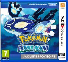 Jaquette de Pokémon Saphir Alpha Nintendo 3DS