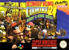 Jaquette de Donkey Kong Country 2 : Diddy's Kong Quest Super NES