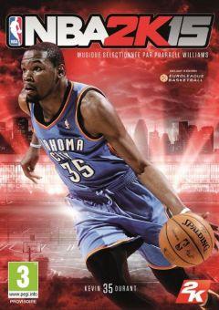 Jaquette de NBA 2K15 PlayStation 3