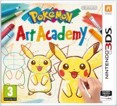 Jaquette de Pokémon Art Academy Nintendo 3DS
