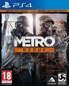 Jaquette de Metro Redux PS4
