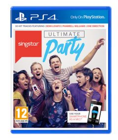 Jaquette de SingStar Ultimate Party PS4