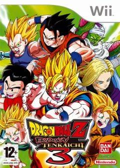 Jaquette de Dragon Ball Z : Budokai Tenkaichi 3 Wii