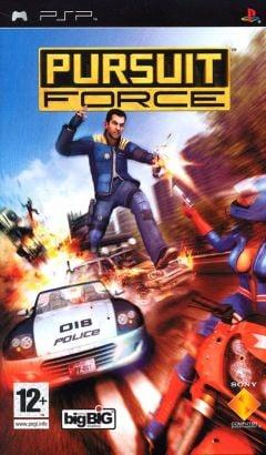 Jaquette de Pursuit Force PSP