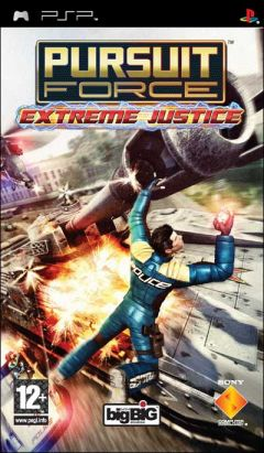 Jaquette de Pursuit Force : Extreme Justice PSP