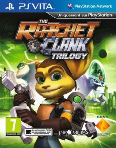 Jaquette de The Ratchet & Clank Trilogy PS Vita