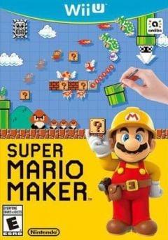 Jaquette de Super Mario Maker Wii U