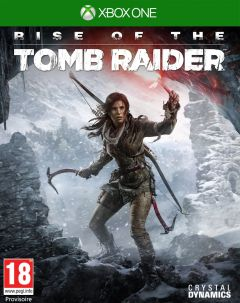 Jaquette de Rise of the Tomb Raider Xbox One