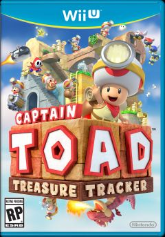 Jaquette de Captain Toad : Treasure Tracker Wii U