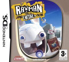 Jaquette de Rayman contre les Lapins ENCORE plus Crétins DS