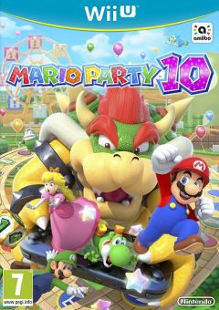 Jaquette de Mario Party 10 Wii U