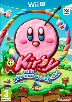 Jaquette de Kirby et le pinceau Arc-en-Ciel Wii U