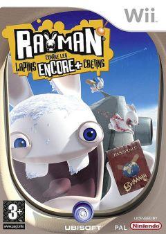 Jaquette de Rayman contre les Lapins ENCORE plus Crétins Wii