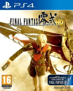 Jaquette de Final Fantasy Type-0 HD PS4