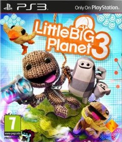 Jaquette de LittleBigPlanet 3 PlayStation 3