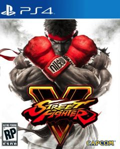 Jaquette de Street Fighter V PS4