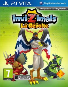 Jaquette de InviZimals : La Révolte PS Vita