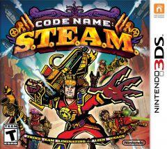 Jaquette de Code Name : S.T.E.A.M Nintendo 3DS