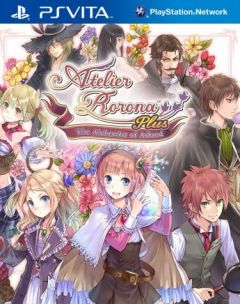 Jaquette de Atelier Rorona Plus : The Alchemist of Arland PS Vita