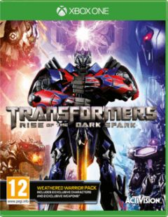 Jaquette de Transformers : Rise of the Dark Spark Xbox One