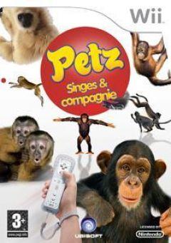 Jaquette de Petz Singes & Compagnie Wii