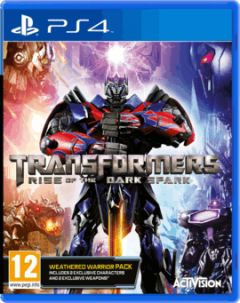 Jaquette de Transformers : Rise of the Dark Spark PS4