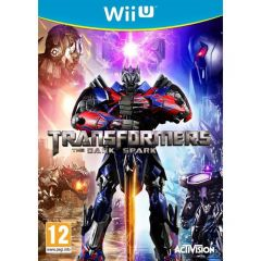Jaquette de Transformers : Rise of the Dark Spark Wii U