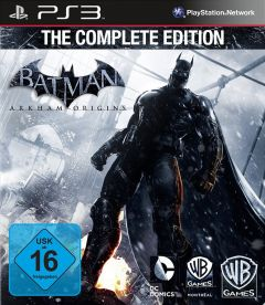 Jaquette de Batman Arkham Origins : The Complete Edition PlayStation 3