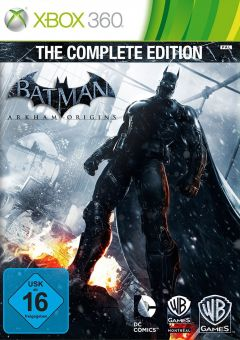 Jaquette de Batman Arkham Origins : The Complete Edition Xbox 360
