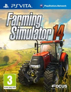 Jaquette de Farming Simulator 14 PS Vita