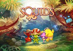 Jaquette de Squids Odyssey Wii U