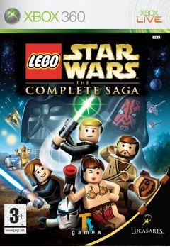 Jaquette de LEGO Star Wars: The Complete Saga Xbox 360