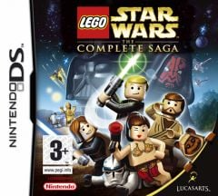 Jaquette de LEGO Star Wars: The Complete Saga DS