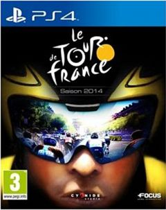 Jaquette de Le Tour de France 2014 PS4