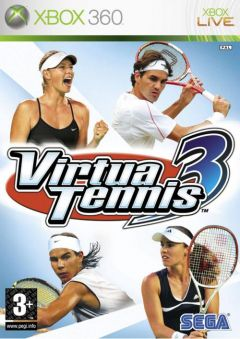 Jaquette de Virtua Tennis 3 Xbox 360