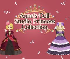 Jaquette de Anne's Doll Studio : Princess Collection Nintendo 3DS