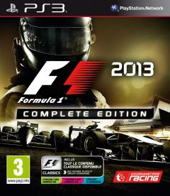 Jaquette de F1 2013 Complete Edition PlayStation 3