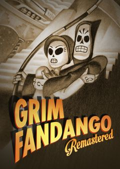 Jaquette de Grim Fandango Remastered PS4