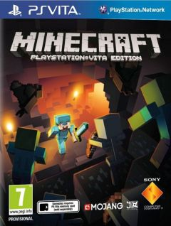 Jaquette de Minecraft : PlayStation Vita Edition PS Vita